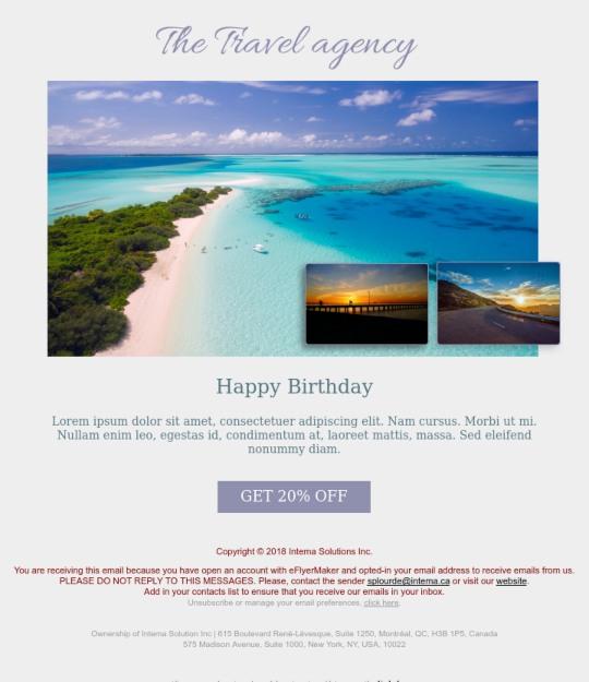 email marketing mẫu 5