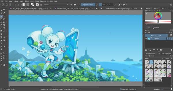 phần mềm vẽ tranh 1