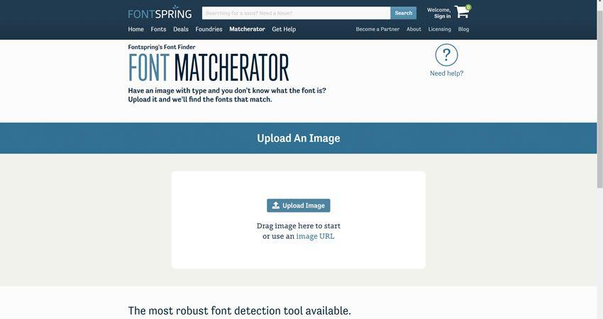 Công cụ FontSquirrel Matcherator