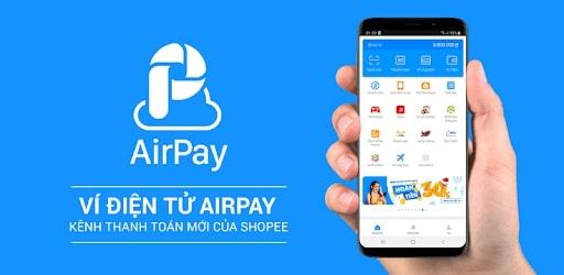 liên kết ví Airpay với shopee