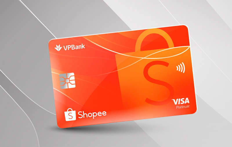 Shopee ưu đãi thể tín dụng