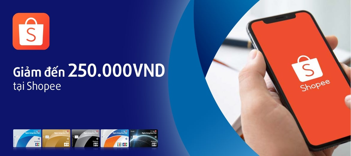 shopee ưu đãi thẻ tín dụng