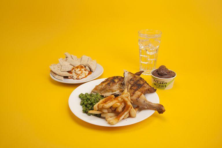 calo trong thức ăn nhanh