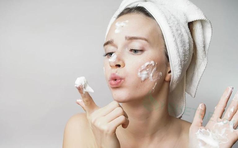 chăm sóc sa mặt mỗi ngày