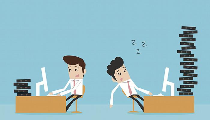 Tình trạng đi trễ của nhân viên