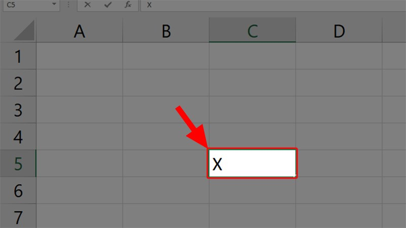 cách dđánh dấu mũ trong Excel