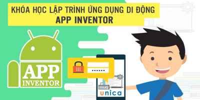 Khóa học lập trình ứng dụng di động App Inventor