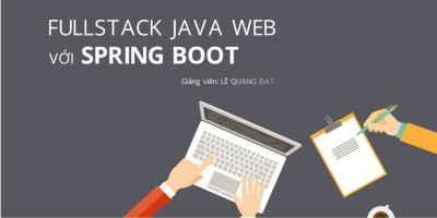 Fullstack Java Web với Spring Boot
