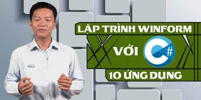 Lập trình WinForm với C#: 10 ứng dụng - Trần Duy Thanh