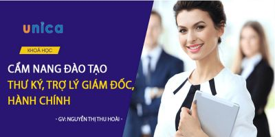Cẩm nang đào tạo thư ký, trợ lý giám đốc, hành chính  - Nguyễn Thị Thu Hoài