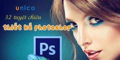 32 Tuyệt chiêu thiết kế photoshop