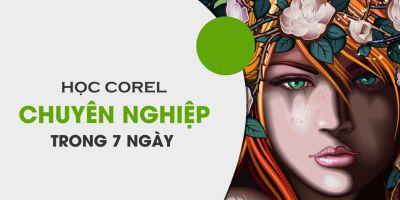 Học Corel chuyên nghiệp trong 7 ngày