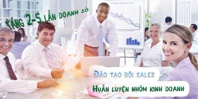 Huấn luyện nhóm kinh doanh - Đào tạo đội sales tăng 2-5 lần doanh số