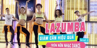 Cùng Lazumba giảm cân hiệu quả trên nền nhạc dance - Level 2
