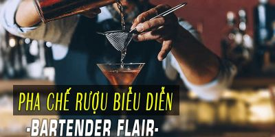 Pha chế rượu biễu diễn-Bartender Flair