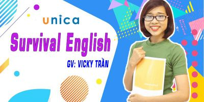 SURVIVAL ENGLISH 	 - Vicky Trần
