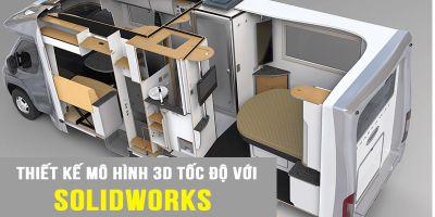 Thiết kế mô hình 3D tốc độ với Solidworks