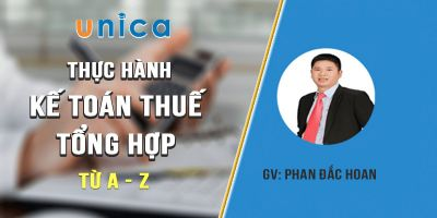 Thực hành kế toán thuế tổng hợp từ A - Z - Phan Đắc Hoan