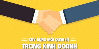 Xây dựng mối quan hệ trong kinh doanh