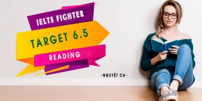 IELTS Fighter Target 6.5: Reading