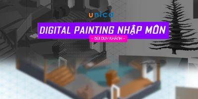 Digital Painting Nhập Môn (Vẽ môi trường)