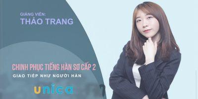 Chinh phục tiếng Hàn sơ cấp 2: Giao tiếp như người Hàn