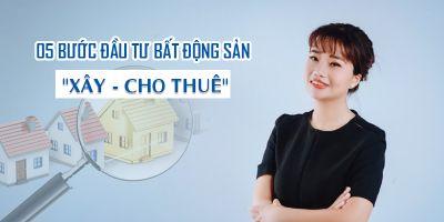 5 bước đầu tư bất động sản