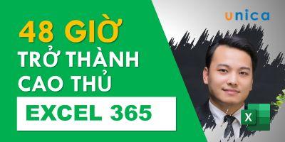 Trở thành cao thủ Excel 365 trong 48 giờ - Nguyễn Ngọc Dương