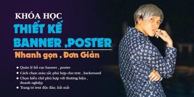Cắt ghép Banner, Poster sản phẩm đơn giản bằng Photoshop