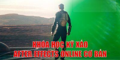Hiệu ứng kỹ xảo cơ bản với phần mềm Adobe After Effects