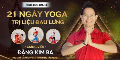 21 Ngày Yoga Trị liệu đau lưng