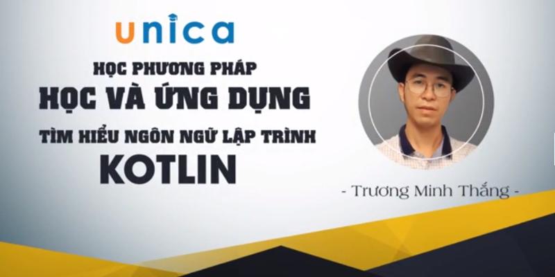 Phương pháp học và ứng dụng tìm hiểu ngôn ngữ lập trình Kotlin