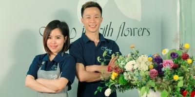 Nghệ thuật cắm hoa - Decor cho không gian hoàn hảo - Florist Hoàng Anh - Hoàng Yến