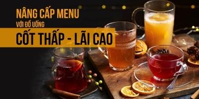 Tăng 200% lợi nhuận quán cafe với menu đồ uống cốt thấp - lãi cao