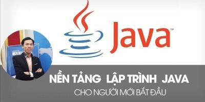 Nền tảng lập trình Java cho người mới bắt đầu