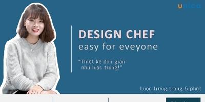 3 phút thiết kế ảnh quảng cáo cùng Design chef bằng phần mềm thiết kế online