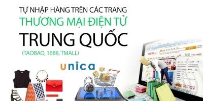 Tự nhập hàng trên các trang thương mại điện tử Trung Quốc (Taobao, 1688, Tmall)