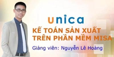 Kế toán sản xuất, dịch vụ trên phần mềm Misa - Nguyễn Lê Hoàng