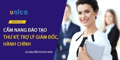 Cẩm nang đào tạo thư ký, trợ lý giám đốc, hành chính