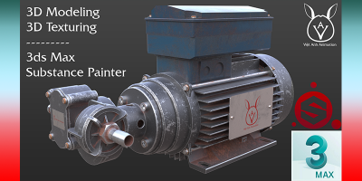 Dựng hình 3D Model với 3ds Max & Substance Painter