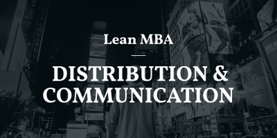LEAN MBA | Phân phối, Bán hàng và truyền thông