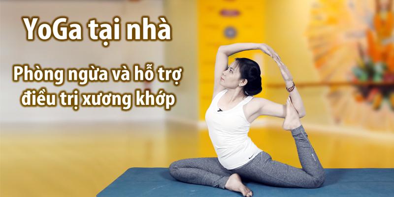 [Nguyễn Thị Ngọc Diễm] Yoga tại nhà – Phòng ngừa và hỗ trợ điều trị…