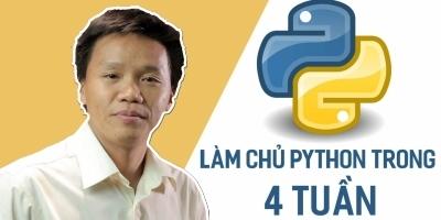 Làm chủ Python trong 4 tuần - Trần Duy Thanh