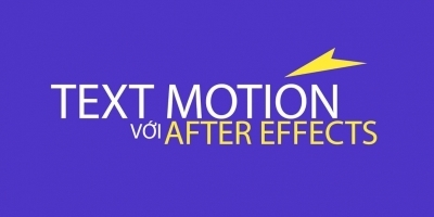 Text motion với After effect - Master Trần