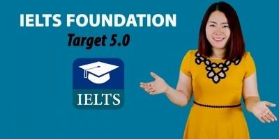 IELTS nền tảng 5.0 phần 2 (Ngữ pháp - Viết - Nói)